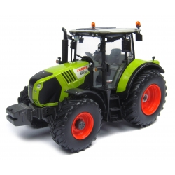 Claas Arion 550 with front weight