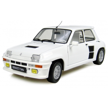 """RENAULT 5 TURBO """"ALL WHITE"""" - """"ONE OF A KIND"""" EDITION LIMITEE"""