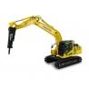 Komatsu PC210LC-11 w/ hammer drill