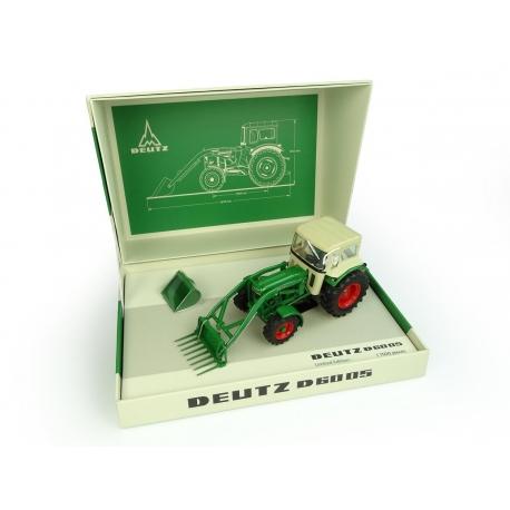 Deutz-Fahr D6005 avec chargeur avant et cabine 4WD